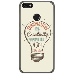 Funda Gel Tpu para Huawei Y6 Pro 2017 / P9 Lite Mini Diseño Creativity Dibujos
