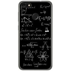 Funda Gel Tpu para Huawei Y6 Pro 2017 / P9 Lite Mini Diseño Formulas Dibujos