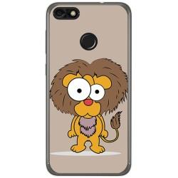Funda Gel Tpu para Huawei Y6 Pro 2017 / P9 Lite Mini Diseño Leon Dibujos