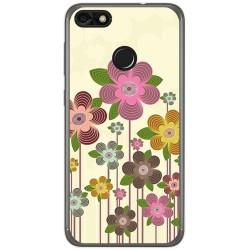 Funda Gel Tpu para Huawei Y6 Pro 2017 / P9 Lite Mini Diseño Primavera En Flor  Dibujos