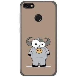 Funda Gel Tpu para Huawei Y6 Pro 2017 / P9 Lite Mini Diseño Toro Dibujos