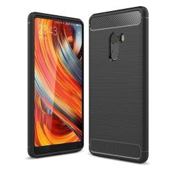 Funda Gel Tpu Tipo Carbon Negra para Xiaomi Mi Mix 2