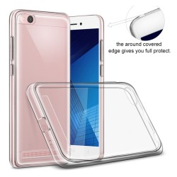 Funda Gel Tpu Fina Ultra-Thin 0,5mm Transparente para Xiaomi Redmi 5A 5""