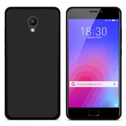 "Funda Gel Tpu para Meizu M6 5.2"" Color Negra"