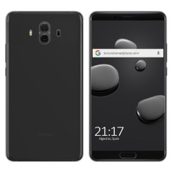 Funda Gel Tpu para Huawei Mate 10 Color Negra