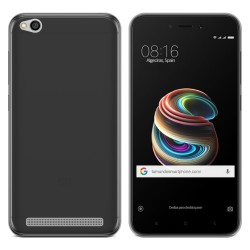"Funda Gel Tpu para Xiaomi Redmi 5A 5"" Color Negra"