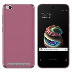 "Funda Gel Tpu para Xiaomi Redmi 5A 5"" Color Rosa"