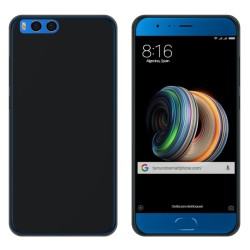 "Funda Gel Tpu para Xiaomi Mi Note 3 5.5"" Color Negra"