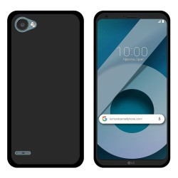 Funda Gel Tpu para Lg Q6 Color Negra