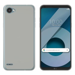 Funda Gel Tpu para Lg Q6 Color Transparente