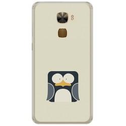 Funda Gel Tpu para Letv Le Pro3 / Pro3 Elite Diseño Pingüino Dibujos