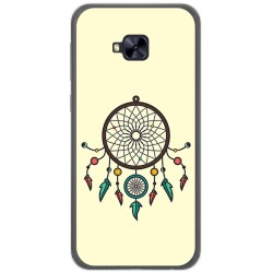 Funda Gel Tpu para Asus Zenfone 4 Selfie Pro Zd552Kl Diseño Atrapasueños Dibujos
