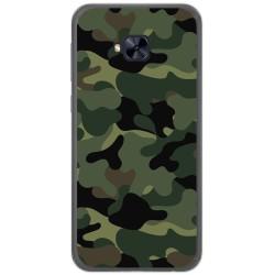 Funda Gel Tpu para Asus Zenfone 4 Selfie Pro Zd552Kl Diseño Camuflaje Dibujos