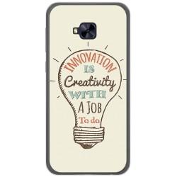 Funda Gel Tpu para Asus Zenfone 4 Selfie Pro Zd552Kl Diseño Creativity Dibujos