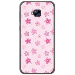 Funda Gel Tpu para Asus Zenfone 4 Selfie Pro Zd552Kl Diseño Flores Dibujos