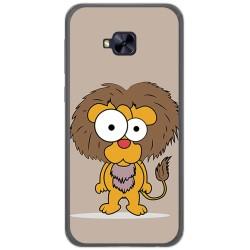 Funda Gel Tpu para Asus Zenfone 4 Selfie Pro Zd552Kl Diseño Leon Dibujos