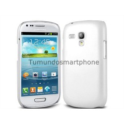 Carcasa Funda Dura Samsung Galaxy S3 Mini I8190 Color Blanca