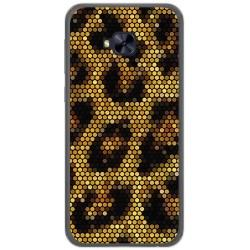 Funda Gel Tpu para Asus Zenfone 4 Selfie Pro Zd552Kl Diseño Leopardo Dibujos