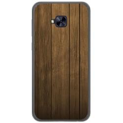 Funda Gel Tpu para Asus Zenfone 4 Selfie Pro Zd552Kl Diseño Madera Dibujos