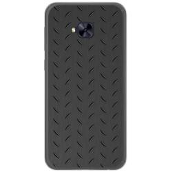 Funda Gel Tpu para Asus Zenfone 4 Selfie Pro Zd552Kl Diseño Metal Dibujos