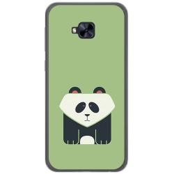 Funda Gel Tpu para Asus Zenfone 4 Selfie Pro Zd552Kl Diseño Panda Dibujos
