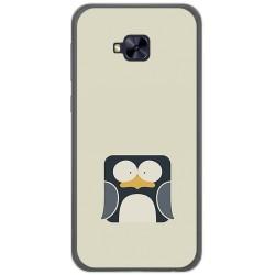 Funda Gel Tpu para Asus Zenfone 4 Selfie Pro Zd552Kl Diseño Pingüino Dibujos