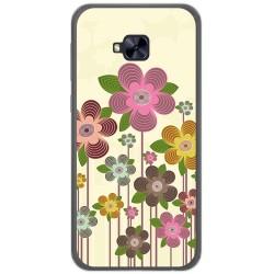 Funda Gel Tpu para Asus Zenfone 4 Selfie Pro Zd552Kl Diseño Primavera En Flor  Dibujos