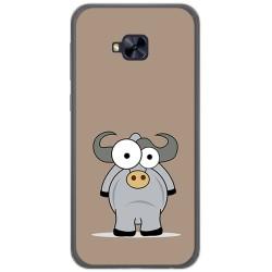Funda Gel Tpu para Asus Zenfone 4 Selfie Pro Zd552Kl Diseño Toro Dibujos
