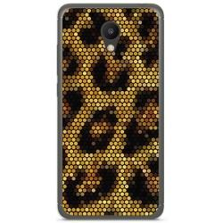 "Funda Gel Tpu para Meizu M6 5.2"" Diseño Leopardo Dibujos"