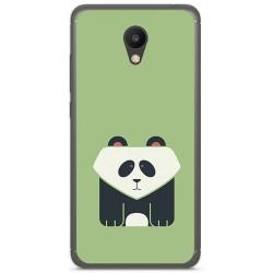 """Funda Gel Tpu para Meizu M6 5.2"""" Diseño Panda Dibujos"""