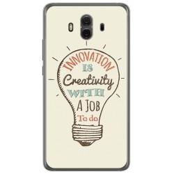 Funda Gel Tpu para Huawei Mate 10  Diseño Creativity Dibujos