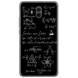 Funda Gel Tpu para Huawei Mate 10  Diseño Formulas Dibujos