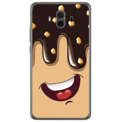 Funda Gel Tpu para Huawei Mate 10 Diseño Helado Chocolate Dibujos