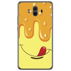 Funda Gel Tpu para Huawei Mate 10  Diseño Helado Vainilla Dibujos