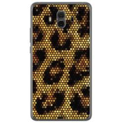 Funda Gel Tpu para Huawei Mate 10  Diseño Leopardo Dibujos