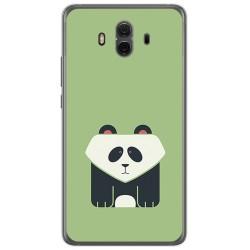 Funda Gel Tpu para Huawei Mate 10  Diseño Panda Dibujos