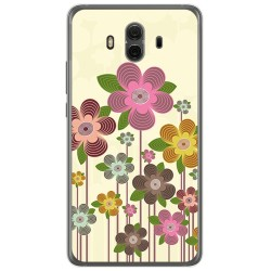 Funda Gel Tpu para Huawei Mate 10  Diseño Primavera En Flor  Dibujos