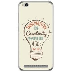 Funda Gel Tpu para Xiaomi Redmi 5A Diseño Creativity Dibujos