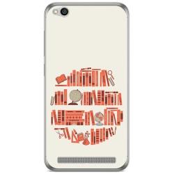 Funda Gel Tpu para Xiaomi Redmi 5A Diseño Mundo Libro Dibujos