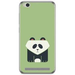 Funda Gel Tpu para Xiaomi Redmi 5A Diseño Panda Dibujos