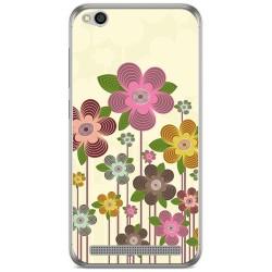 Funda Gel Tpu para Xiaomi Redmi 5A Diseño Primavera En Flor Dibujos