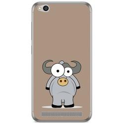 Funda Gel Tpu para Xiaomi Redmi 5A Diseño Toro Dibujos