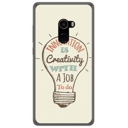 Funda Gel Tpu para Xiaomi Mi Mix 2 Diseño Creativity Dibujos