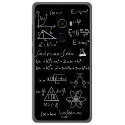 Funda Gel Tpu para Xiaomi Mi Mix 2 Diseño Formulas Dibujos