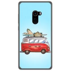 Funda Gel Tpu para Xiaomi Mi Mix 2 Diseño Furgoneta Dibujos