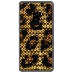 Funda Gel Tpu para Xiaomi Mi Mix 2 Diseño Leopardo Dibujos