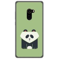 Funda Gel Tpu para Xiaomi Mi Mix 2 Diseño Panda Dibujos