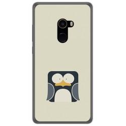 Funda Gel Tpu para Xiaomi Mi Mix 2 Diseño Pingüino Dibujos