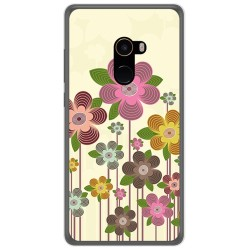 Funda Gel Tpu para Xiaomi Mi Mix 2 Diseño Primavera En Flor Dibujos