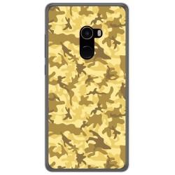 Funda Gel Tpu para Xiaomi Mi Mix 2 Diseño Sand Camuflaje Dibujos